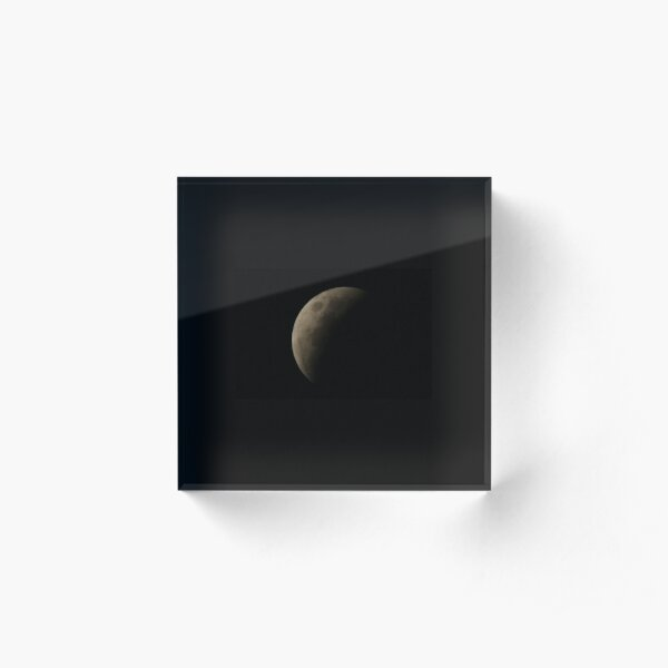 Eclipse 1 Acrylic Block