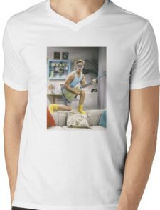 Zack Morris - Saved by the Bell Mens V-Neck T-Shirt