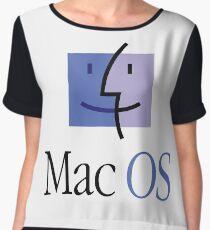 Apple Computers Mac Os Women's Chiffon Top