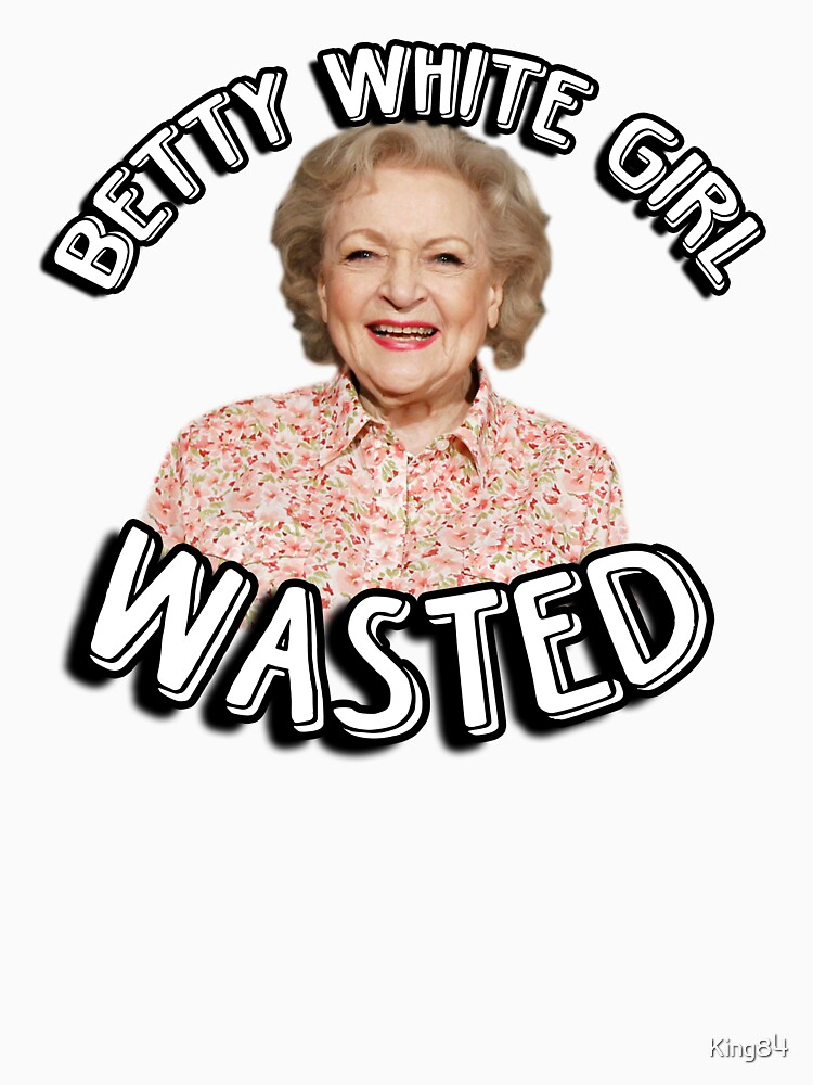 Betty White girl wasted | Unisex Tank Top