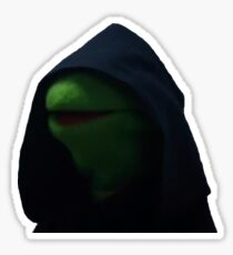 Dark Kermit Sticker