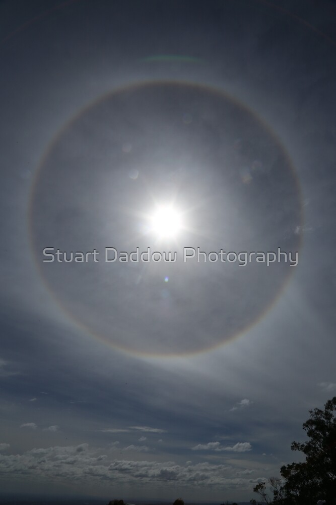 Ring Around The Sun by Stuart Daddow Photography