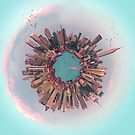 New York City mini world by Vin  Zzep