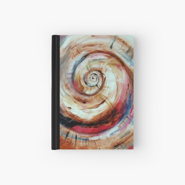 Moon Shell in Color Hardcover Journal