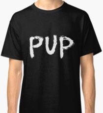 PUP Graffiti Logo White Classic T-Shirt