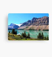 Bow Lake Alberta Canvas Print