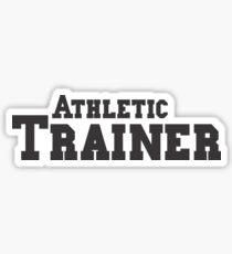 Athletic Trainer Sticker