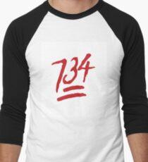 734!!  Men's Baseball ¾ T-Shirt