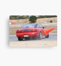 2014 Oz Gymkhana Round 1 - #18 Nissan 180SX (1) Canvas Print