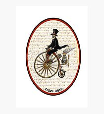 PENNY FARTHING RETRO STEAMPUNK! Photographic Print