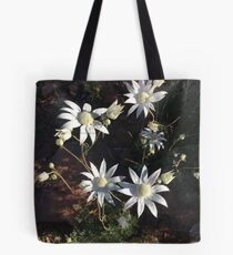 Flannel flowers Tote Bag