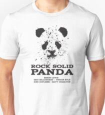Shadowhunters Rock Solid Panda Band Design T-Shirt