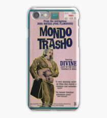 Mondo Trasho iPhone Case/Skin