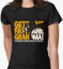 Get In the Fast Lane Womens Fitted T-Shirt