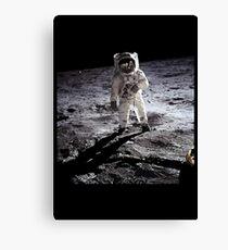Moon Man Canvas Print
