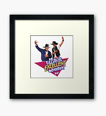 Westworld Bill and Ted Framed Print