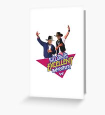 Westworld Bill and Ted Greeting Card