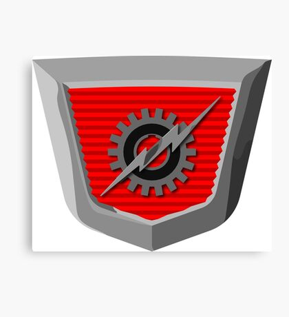 Classic Ford Emblem Canvas Print