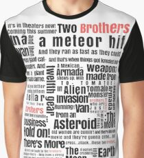 Two Brothers - Rick and Morty Graphic T-Shirt