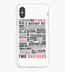 Two Brothers - Rick and Morty iPhone Case/Skin