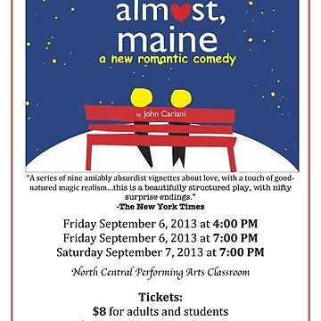 North Central Theatre presents Almost, Maine by John Cariani by nctheatre