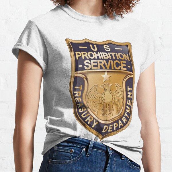 US Prohibition Service Badge Classic T-Shirt