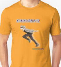 Quicksilver doing the Naruto Run Unisex T-Shirt