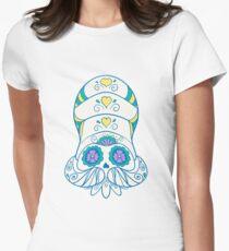 Omanyte Popmuerto | Pokemon & Day of The Dead Mashup T-Shirt