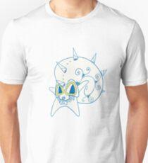 Omastar Popmuerto | Pokemon & Day of The Dead Mashup T-Shirt
