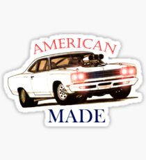 1969 Classic Plymouth Roadrunner Sticker
