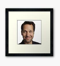Paul Rudd Odd Framed Print