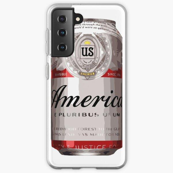 America - Beer Samsung Galaxy Soft Case