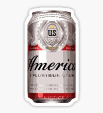 Pegatina América - Cerveza