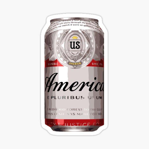 America - Beer Sticker