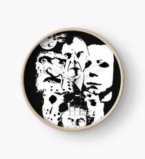 Horror Icons! Clock