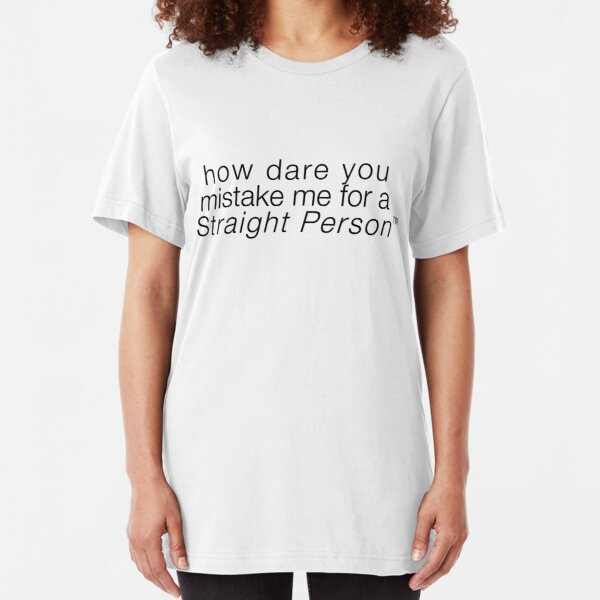 Straight Person™ Slim Fit T-Shirt