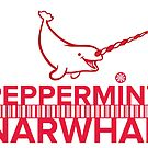 Peppermint Narwhal with Happy Narwhal by PepomintNarwhal