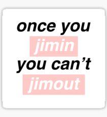 Once you Jimin... Sticker