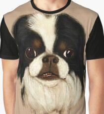 Big Mike, Japanese Chin Dog Graphic T-Shirt
