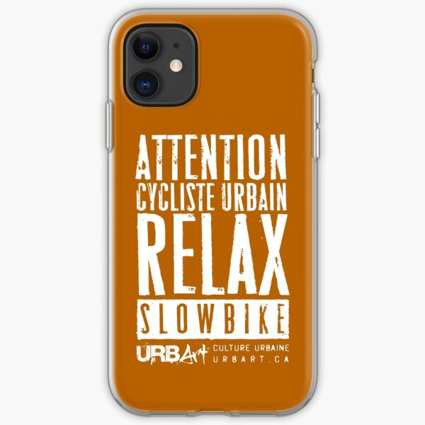 UrbArt® - Slow Bike-02 Coque souple iPhone