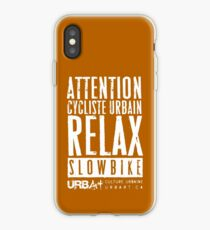 UrbArt® - Slow Bike-02 iPhone Case