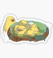 Spirited Away Duck Bath Sticker