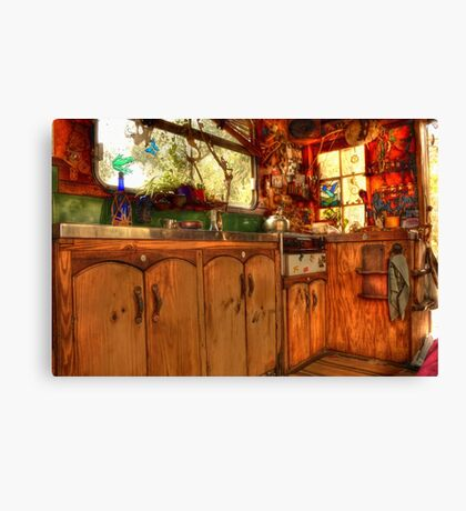 Kitted Out Country Style Canvas Print