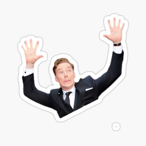 Benedict Cumberbatch at the oscars Sticker