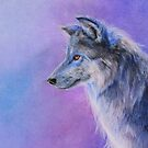 Blue Wolf by Ria Spencer