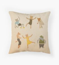 Let Her Dance Throw Pillow
