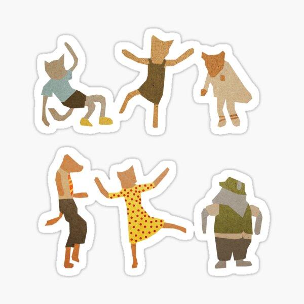 Let Her Dance Sticker