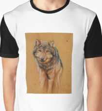 Fading Wolf Graphic T-Shirt