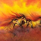 Fire Horses by Ria Spencer