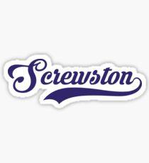 Screwston Sticker